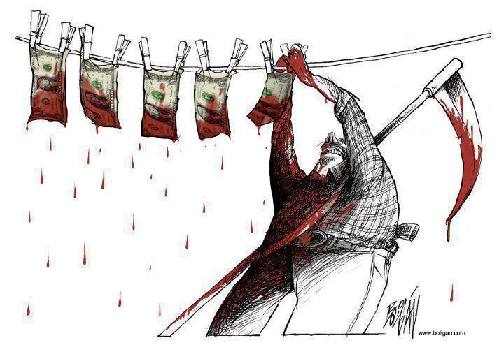 blutiges Geld